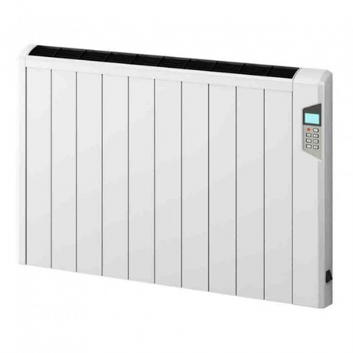 Reina Arlec Aluminium Electric Panel Radiator - 565mm x 414mm - White